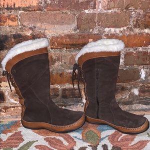 North Face Primaloft Suede Boots US7.5